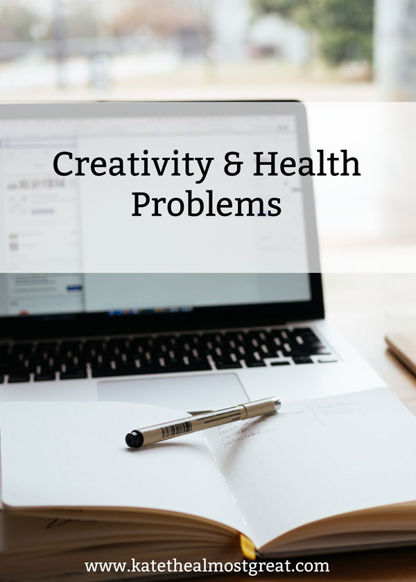 If you have heath problems, you know that it can affect every aspect of your life. This is definitely true when it comes to creativity and creative pursuits. Here's how you can manage your creativity even if you have health issues