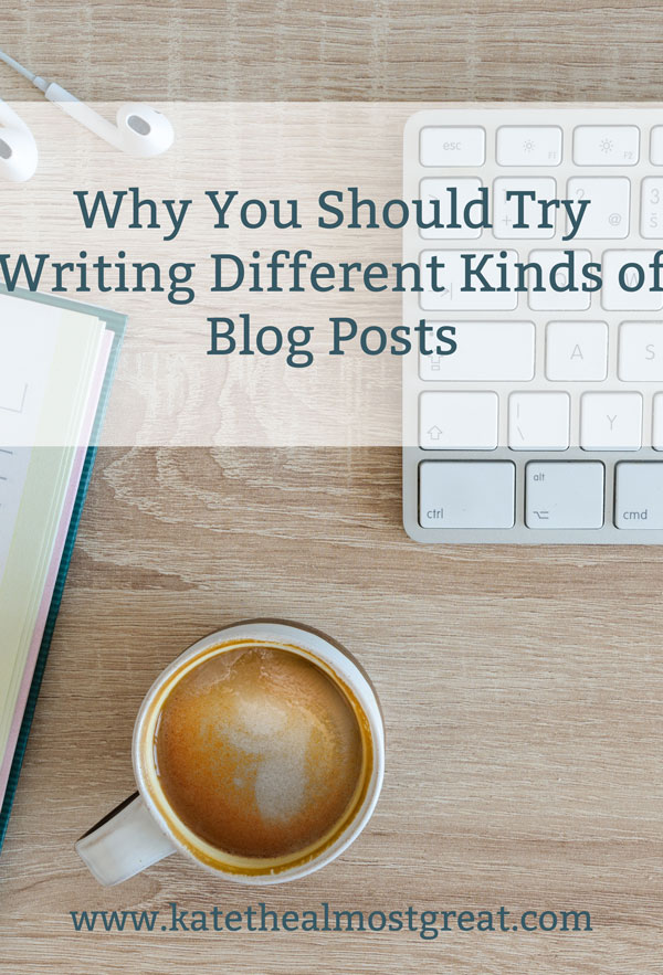 This month, I tried writing blog posts that were different from what I usually do, and they were some of my more popular posts. Here's why I decided to do this, what the response was, and more information on why you should try this, too.