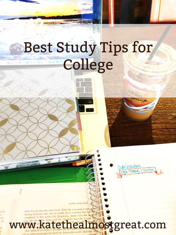 Every semester is a fresh start for success. Use these study tips for college that are from a teacher and graduate student to have the best semester possible.