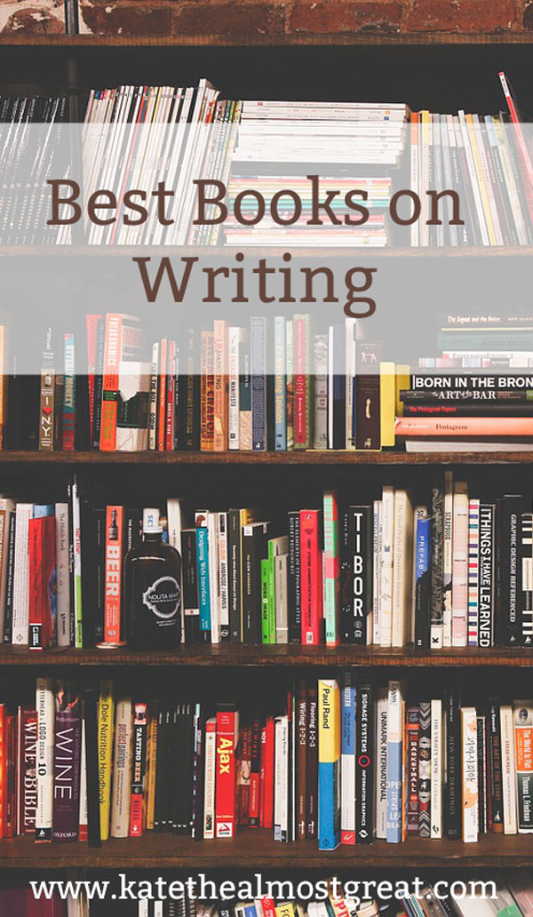 One way that you can improve your writing is by education yourself. You can take writing courses, go on a writing retreat, or even read books on writing. Here are the best ones in my opinion. After all, books are cheaper than courses!