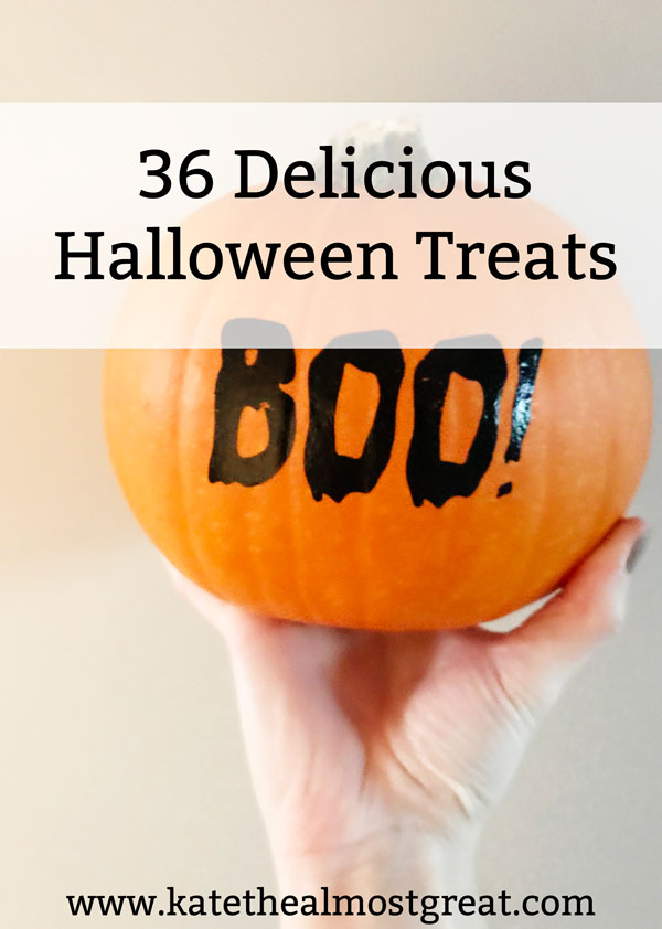Looking for something delicious to make this Halloween? Check out these 36 Halloween treats that are perfect whether you're throwing a party or just want to get in the spirit of Halloween.