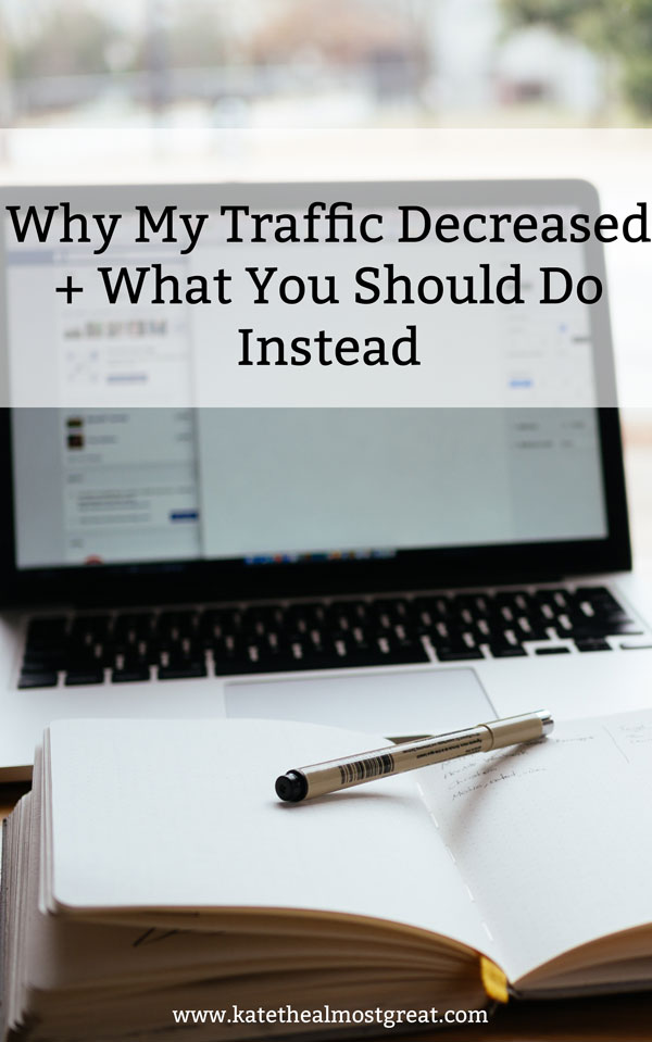 In my September blog traffic report, I share that my blog traffic decreased this month. But there's a definite reason why that happened. If you want to avoid making the mistake I made, check out this post.