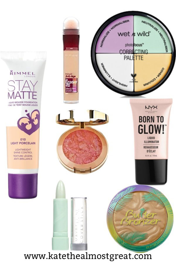 I'm sharing the top drugstore makeup out there for all of your makeup needs, from foundation to eyeliner and everything in between. Some of it is better than its higher-end counterparts!