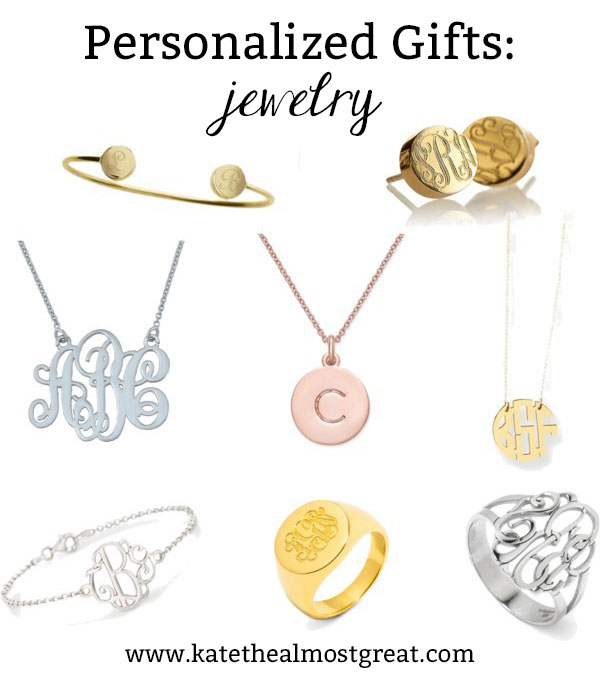 Is there anything better than jewelry with your personal monogram? If you're shopping for the prep in your life, you should check out these unique personalized gifts. But make sure you order them ASAP because they take longer to ship than non-personalized items.