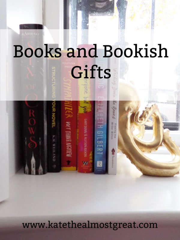 Shopping for a bookworm this holiday season? Here are the books that I suggest you get them, as well as my reviews for some of them so you can help decide if they're the right fit for whoever you're shopping for.