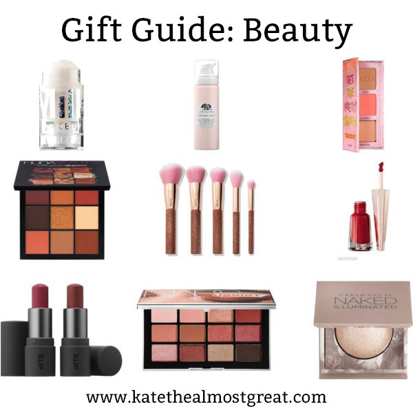 If you're shopping for a makeup lover, check these out! These are all relatively new products, so whoever you're shopping for is less likely to have them already. Check out the post for more beauty gift guides!