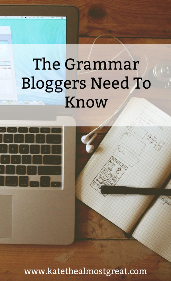 In blog writing, grammar is always a bit laxer than it is elsewhere. But there are still some grammar problems you need to be aware about, as well as how to fix them.