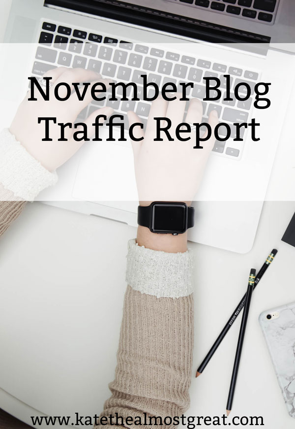 Want to increase blog traffic? Here are the tools I used in November, which helped grow my traffic by over 10%.