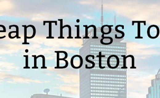 Cheap Things To Do in Boston