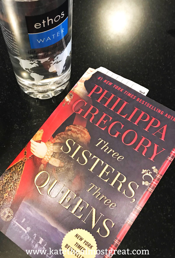 I recently read Three Sisters, Three Queens, and if you like historical fiction books, you need to read this. It's so good!