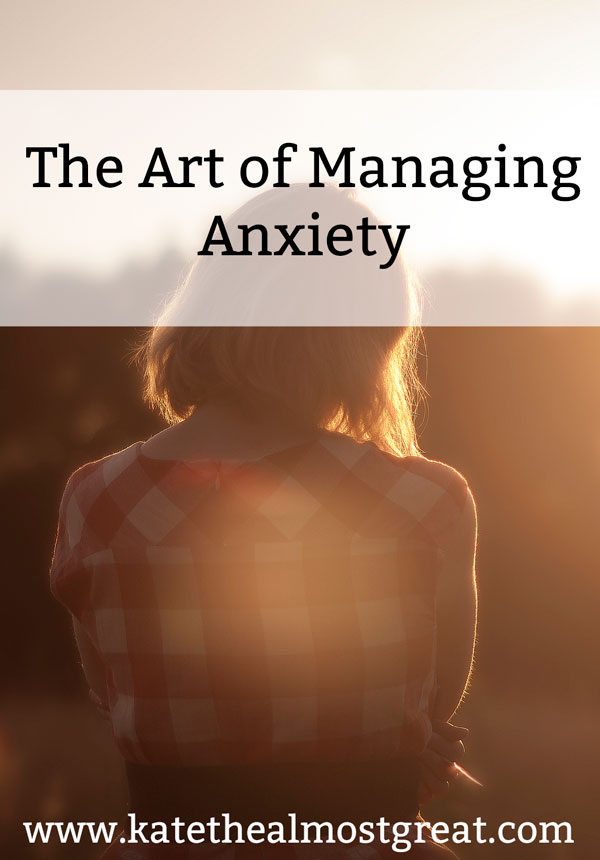 Managing anxiety is tricky, especially because it is different for everyone. What might help one person won't help another. So I'm sharing the tools that I use, as well as other tools recommended by psychologists.