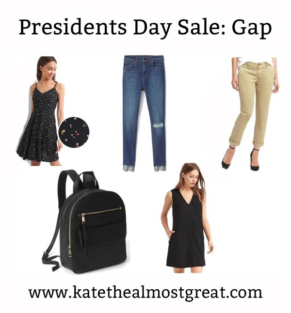 Great deals from Gap's Presidents Day sale