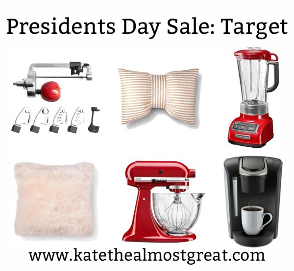 Awesome deals from Target's Presidents Day sale.
