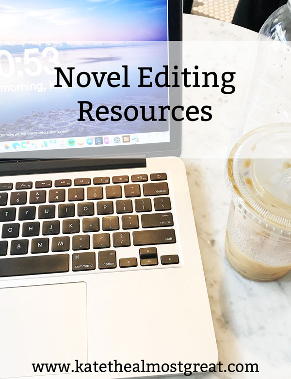Sharing my novel editing tips as well as lots of resources to help you make your novel as amazing as it can be.