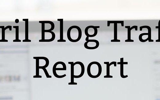 April Blog Traffic Report