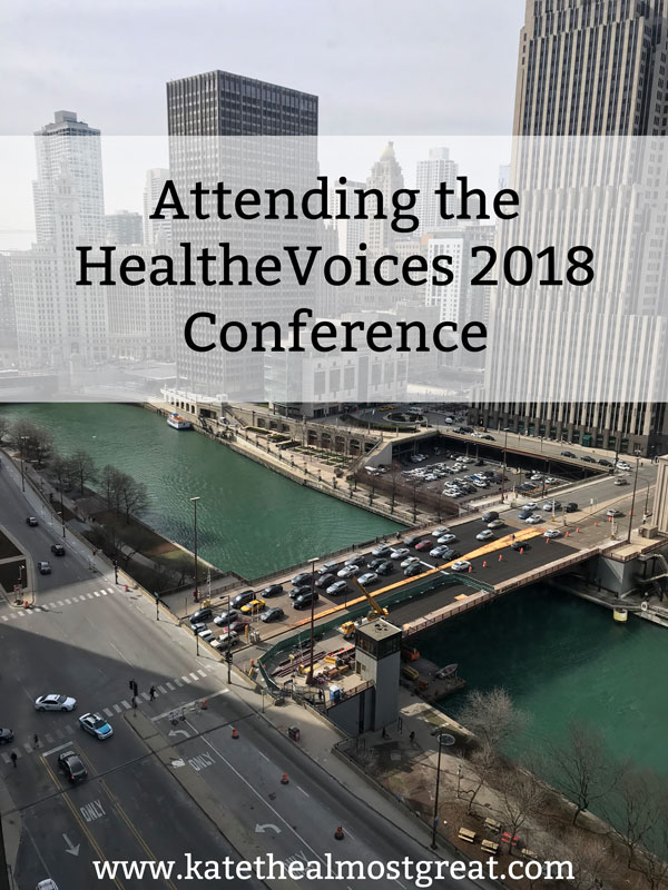 Have you heard about the HealtheVoices conference? I'm talking about my experience attending in 2018.