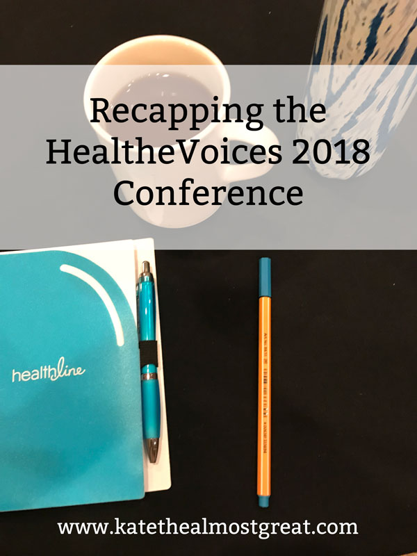 Attending the HealtheVoices 2018 Conference