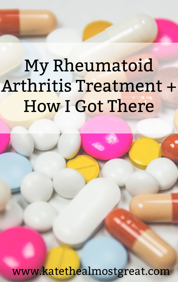 Finding a rheumatoid arthritis treatment that works can be a tricky process. Whether you're a patient or just curious, I'm sharing what my current treatment is and the process of how I got there.