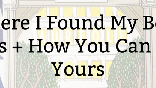 Where I Found My Book Ideas + How You Can Find Yours