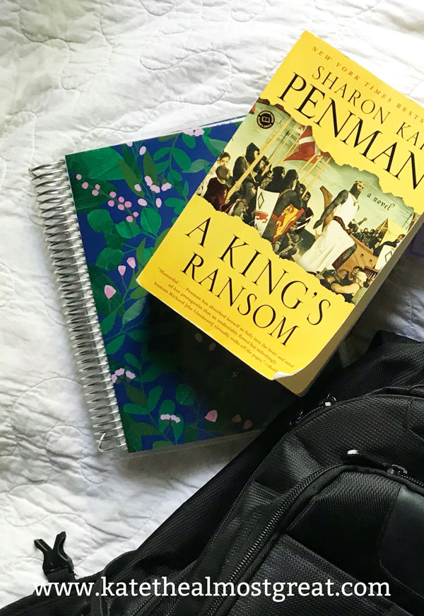 Reviewing the books I read in May, including A King's Ransom.