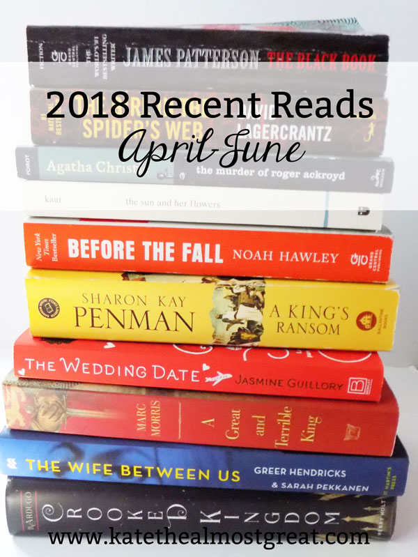 Reviewing the books I read in April to June to help you find your next book.