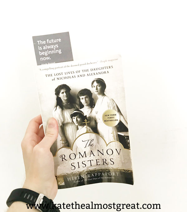 Reviewing The Romanov Sisters, as well as the other books that I read in July.