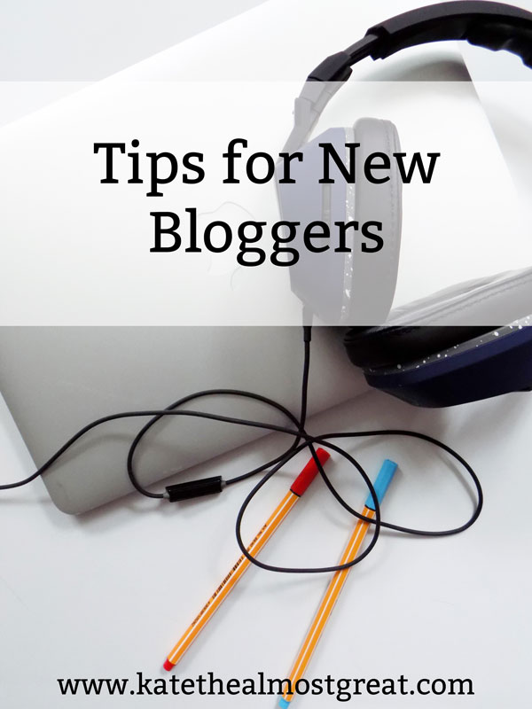 There are a lot of tips for bloggers out there on the Internet. I've personally been blogging for over 5 years, and so I've accumulated quite a list of tips. I'm sharing my 12 best tips for new bloggers, which will hopefully get you started on the right foot.