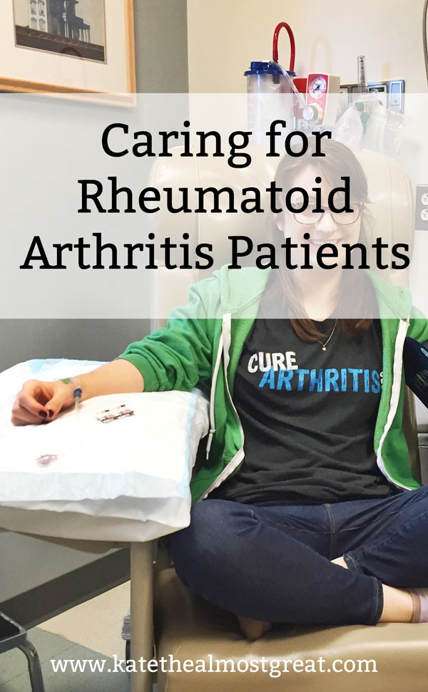 Are you caring for rheumatoid arthritis patients? Here's what you should know from the perspective of one, as well as some resources.