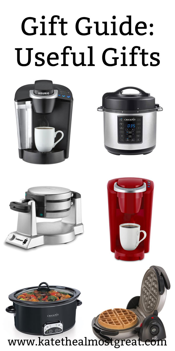 gifts for the house, gifts for the kitchen, kitchen gifts, house gifts, holiday gifts, christmas gifts, hanukkah gifts, keurig, crock pot, slow cooker, waffle maker