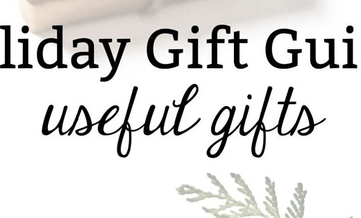 Holiday Gift Guide: Useful Gifts