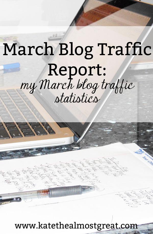 March blog traffic statistics, blog traffic statistics, blog traffic, blog traffic report, site traffic, site traffic report, website traffic, website traffic report, grow blog traffic, grow website traffic, grow site traffic