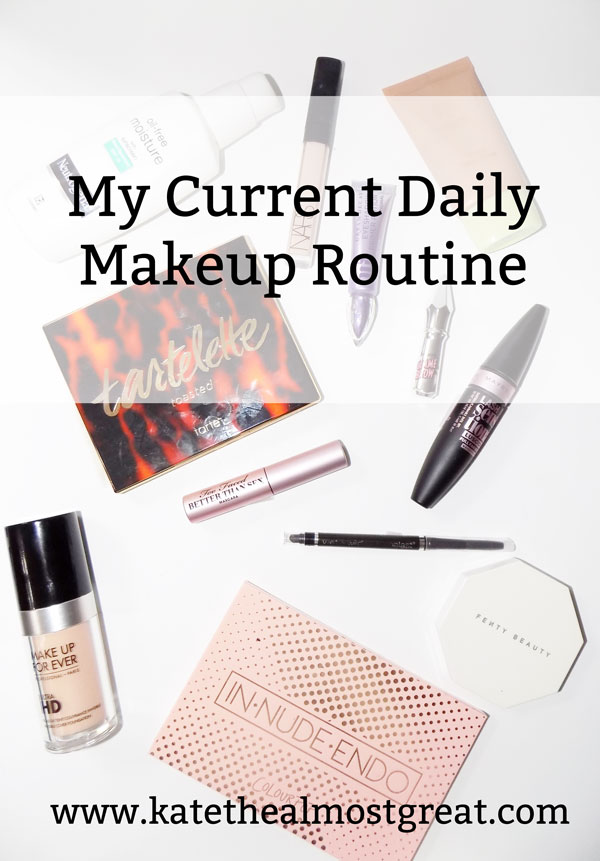 I've been a big fan of makeup for a long time, so today I'm sharing my current daily makeup routine.