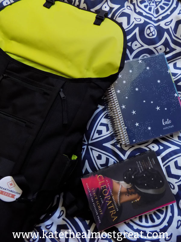 what's in my bag, a millennial's work bag, Erin Condren life planner, life planner, EC life planner, Cleopatra: A Life