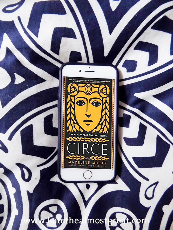 Circe, Circe review, review of Circe, what to read, what to read in 2019