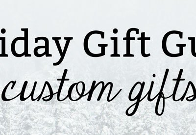 Holiday Gift Guide 2019: Custom Gifts | Kate the (Almost) Great