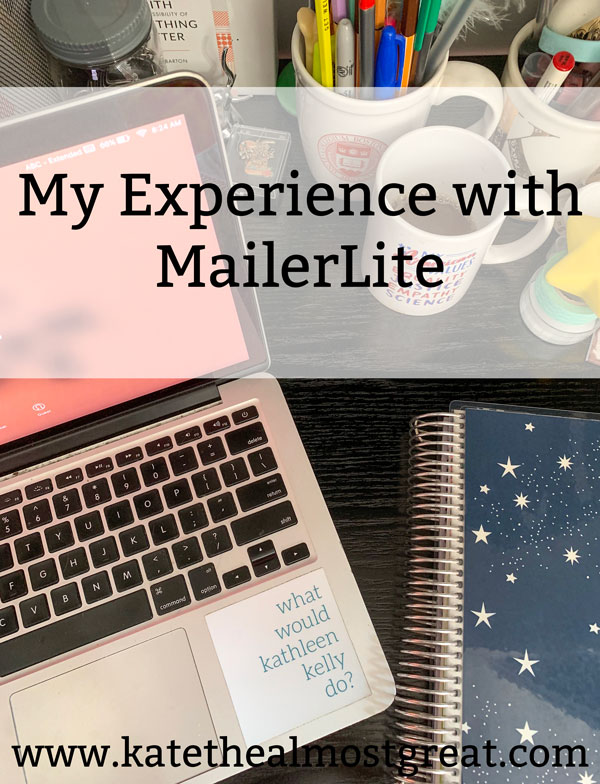 Mailerlite, my experience with MailerLite, why I use MailerLite, email newsletter providers, email marketing, email marketing providers