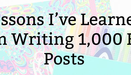 1,000 Blog Posts | Kate the (Almost) Great, Boston Lifestyle Blogs