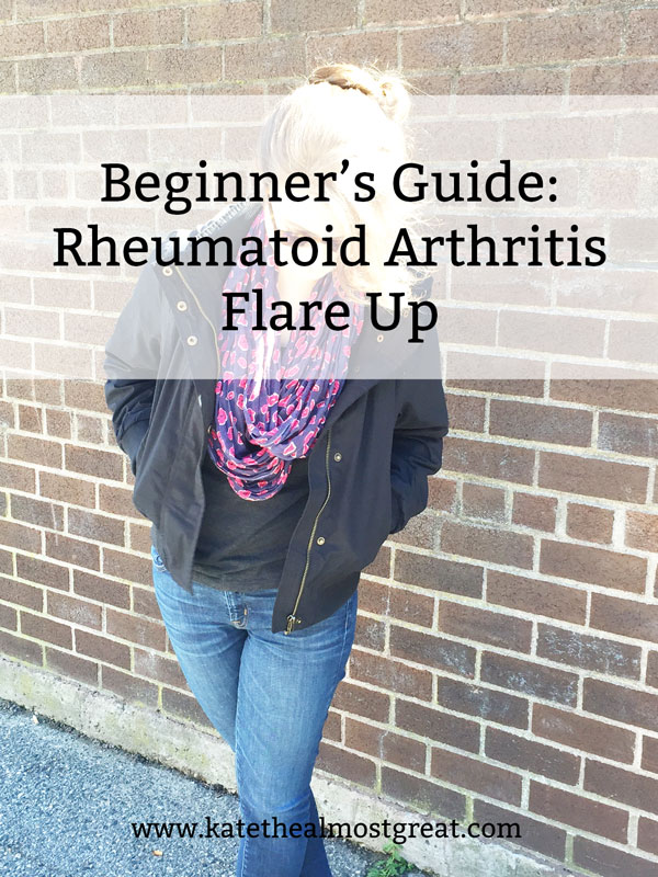 In this post, RA patient Kate the (Almost) Great explains what exactly a rheumatoid arthritis flare up is, how to deal with it, and products to make it easier.