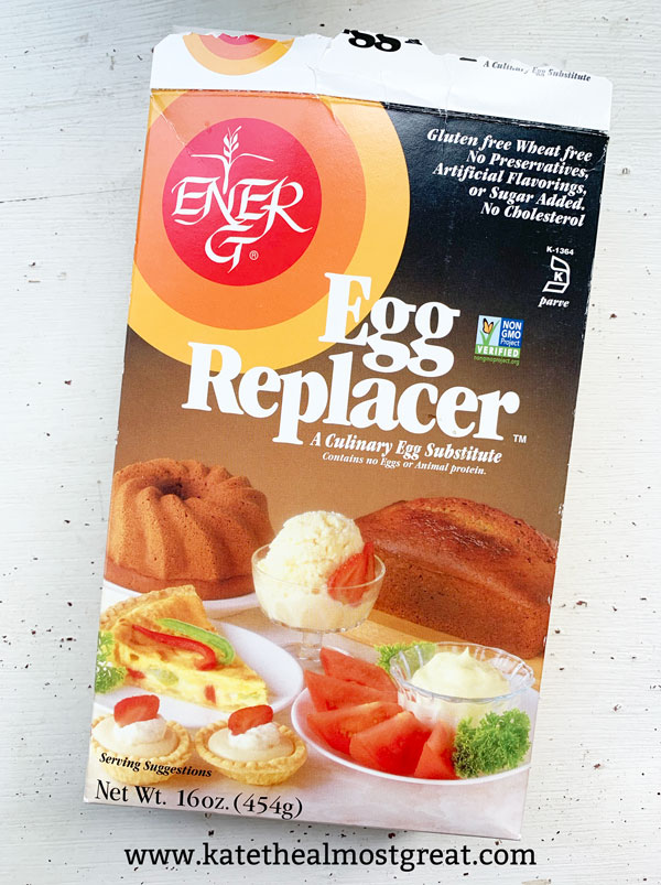 food substitutions, egg substitutions, egg replacements, egg replacer, Ener-G egg replacer