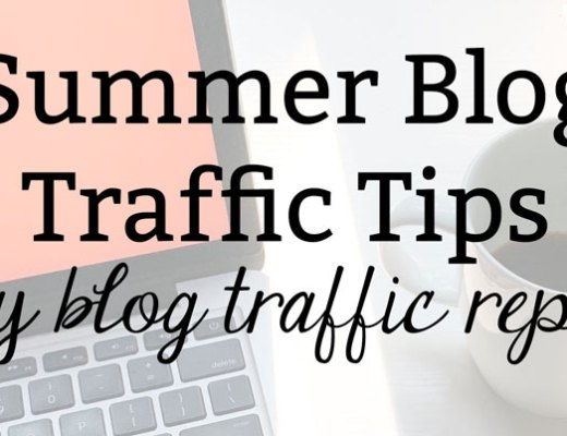 Summer Blog Traffic Tips: July Blog Traffic Report
