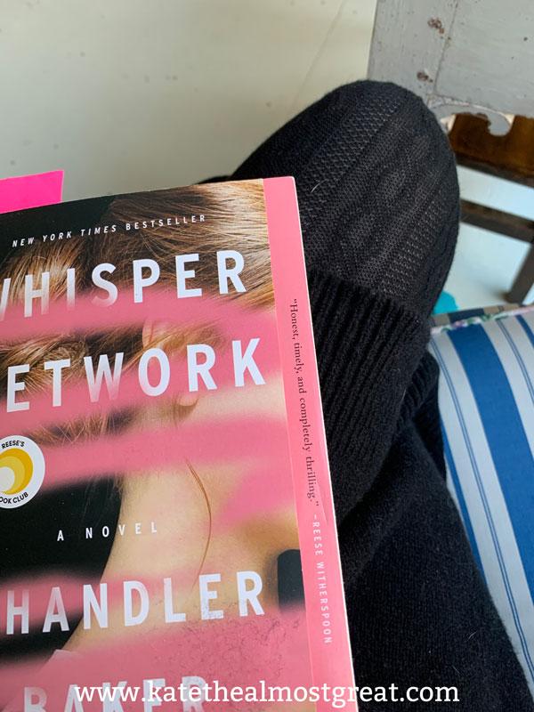 Whisper Network, whisper network synopsis, whisper network review, about whisper network, whisper network book