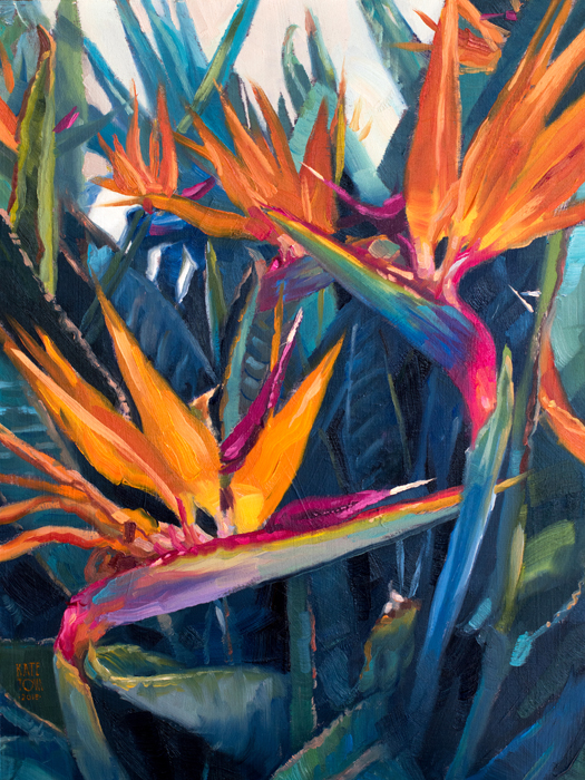 Art, Painting, Flowers, Bird Of Paradise, Oil Painting, Impressionistic , Realistic, Painting For Sale, Sold, Fine Art, Buy A Painting, Wall Art, Gift, Christmas, Artist, Contemporary Painting, Painting Gallery, Painting, Custom Art, Custom Paintings, Nature, Water, Usa, America, American Art, Blue, Purple, Kate Tova Artist, Christmas, Gift, Anniversary, New Year, Birthday Present, Unique, Exclusive, Expensive, Luxurious, Living Room, Guestroom, Kate Tova, Wedding Gift, Valentines Day Gift, Hand Painted, Art For Dining Room, Guest Room, Living Room, Bedroom, Print
