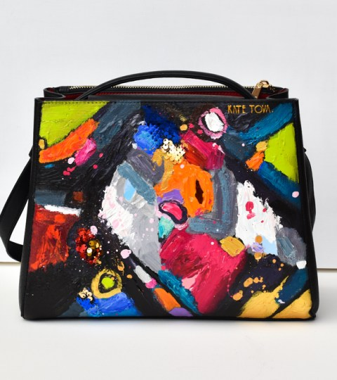 ABSTRACT II. Painted Purse