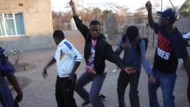 SSI's dance train