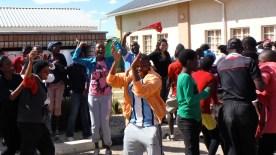 Our winners celebratory dance