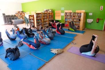 Shia's Staff yoga Session