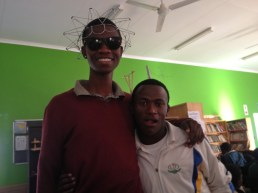 2 of our beautiful mentors, these guys make my day, every day