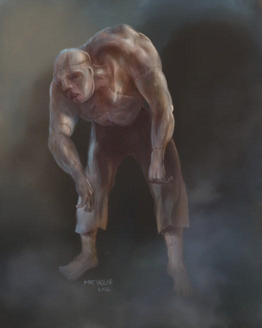 horror, frankenstein, Igor, horror art