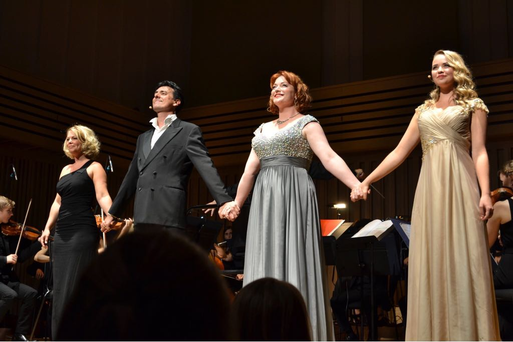 Francesca Jackson, Damian Thantrey, Kate Valentine, and Katie Hall - The Sound of his Music: A Celebration of Richard Rodgers - Summer 2018