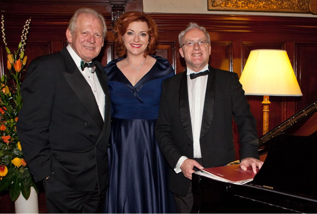 Sir Thomas Allen, Kate Valentine, Timothy Dean - Council for Music in Hospitals Gala - 2014